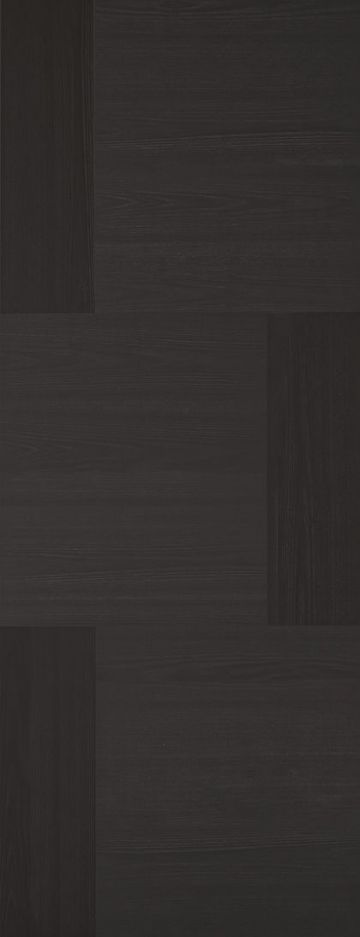 Charcoal Black Seis Fire Door